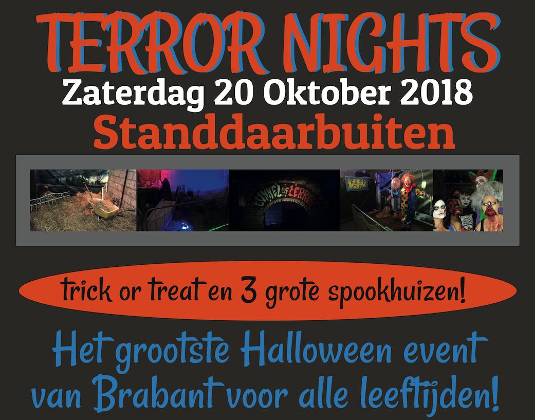 Halloween Standdaarbuiten